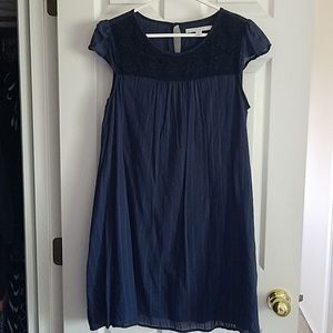 LC Lauren Conrad Lined Cotton Dress